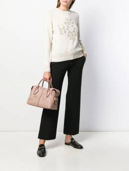 Tod's - D-Styling small tote ANYH6066XPAM60395339
