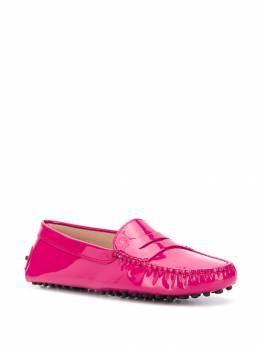 Tod's - patent leather Gommino loafers 66G66696OWO953398530