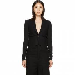 Rick Owens Black Alice Blazer 192232F05700302GB