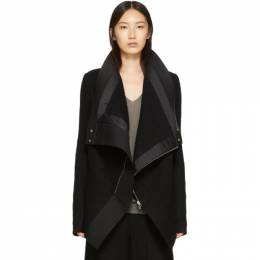 Rick Owens Black Exploder Coat 192232F06300101GB