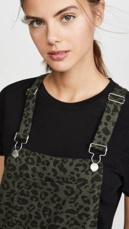 Z Supply Leopard Overalls