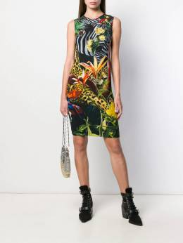 Roberto Cavalli - Paradise Found fitted dress 960ORS69955965900000