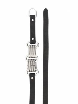 Rick Owens - interlocking ring belt 9F5533LWN95568699000