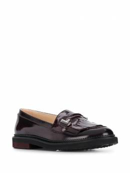 Tod's - patent slip-on loafers 36B6BV56SHA955959900