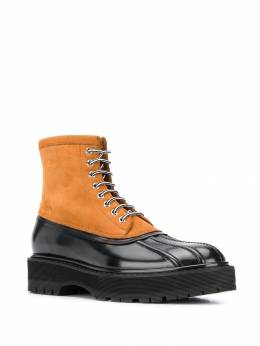 Givenchy - dual-tone hybrid boots 666H6F39556863500000