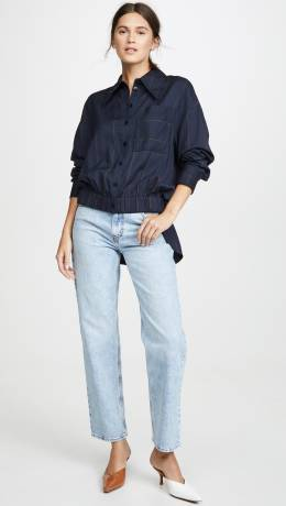 Tibi Double Layer Shirt