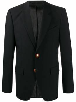 Givenchy - embossed button blazer 65S903G9550593300000