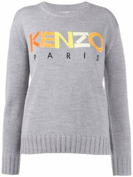 Kenzo - embroidered logo jumper 0TO69886895595959000
