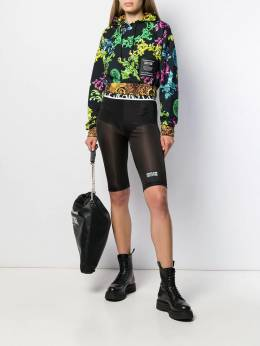 Versace Jeans Couture - sheer cycling shorts UB965688669559966500