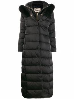 Herno - padded layered coat 985D9093695506903000