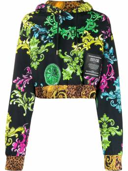 Versace Jeans Couture - baroque pattern hoodie UB335SL3669559899900