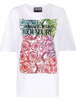 Versace Jeans Couture - baroque swirl T-shirt UB3M6360839559966800