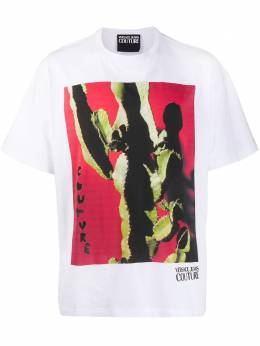 Versace Jeans Couture - cactus printed T-shirt UB3V5360539559965600