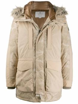 Woolrich - hooded military parka coat PS0839UT939595596065