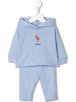 Ralph Lauren Kids - hooded trouser set 35039366095599555000
