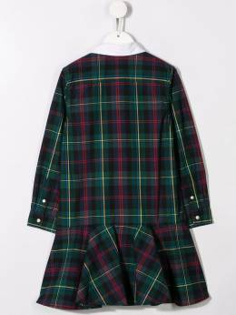Ralph Lauren Kids - button up plaid dress 36655995560533000000