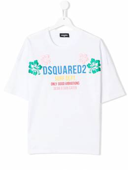 Dsquared2 Kids - футболка с логотипом 3CFD66MM936888300000