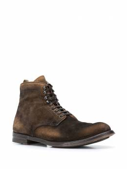 Officine Creative - piped leather trim boots NATO693SENS3G5569550