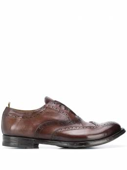 Officine Creative - laceless Oxford shoes NATO633AERBUD0039550