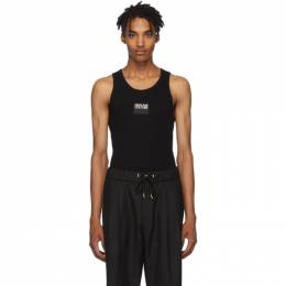 Versace Jeans Couture Black Logo Tank Top 192202M21400206GB