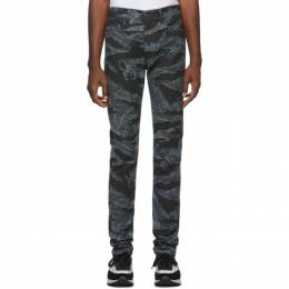 Diesel Black and Grey D-Amny-SP1 Jeans 00S0CS 0091R