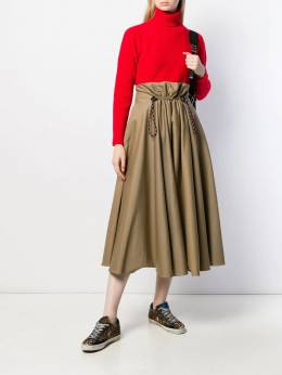Golden Goose - Ayame flared pleated skirt WP999A09550050900000