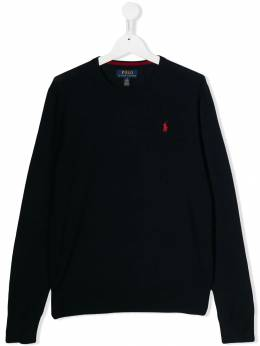 Ralph Lauren Kids - logo knitted sweatshirt 35988395569638000000