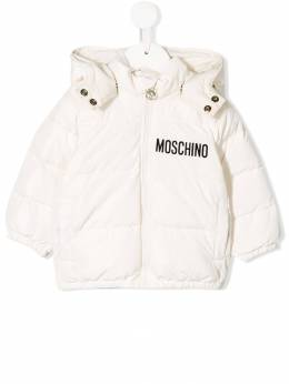 Moschino Kids - teddy bear padded jacket 69IL3A96B95590898000