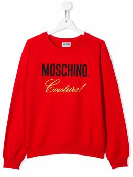 Moschino Kids - TEEN Couture sweatshirt 60BLDA93569699533659