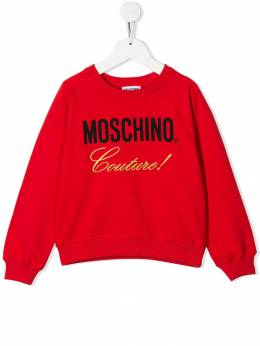 Moschino Kids - Couture sweatshirt 60BLDA93569699533659