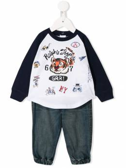 Ralph Lauren Kids - sweatshirt and jeans romper 35639595595539000000