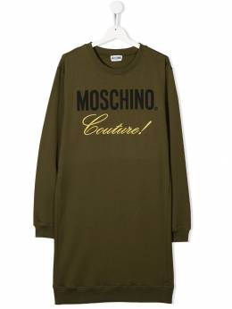 Moschino Kids - TEEN Couture sweatshirt dress 68ELDA93363999533653