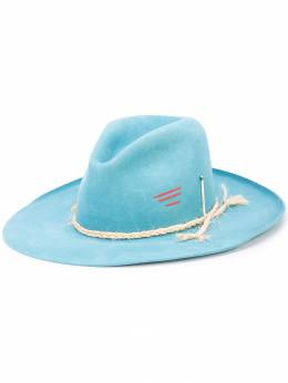Nick Fouquet - distressed rope detail hat 95385096000000000000