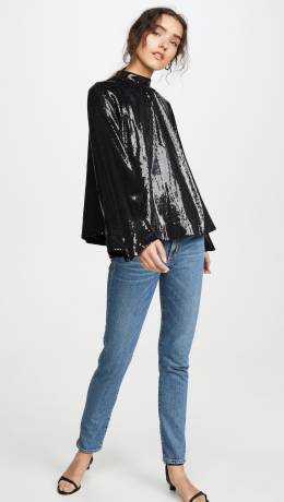 RTA Tennessee Sequin Top