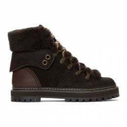 See by Chloe Brown Eileen Boots 192373F11301001GB