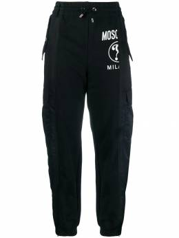 Moschino - panelled tapered trousers 96550395503503000000