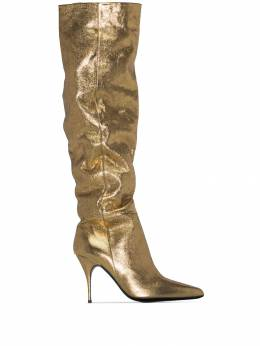 Zimmermann - slouch 100mm heeled boots 9F999596368900000000