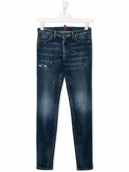 Dsquared2 Kids - TEEN distressed skinny jeans 9DXD66VQ955963380000