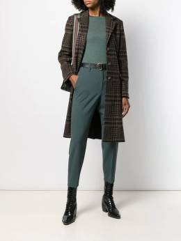 Etro - button up houndstooth coat 03658095568685000000
