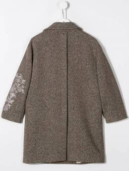 Dondup Kids - double-breasted coat 35TY6608656955003080