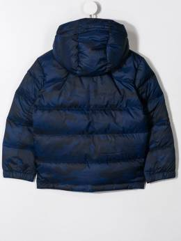 Ralph Lauren Kids - logo embroidered padded jacket 85966995336955000000