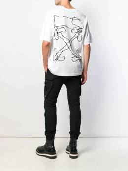 Off-White - embroidered logo T-shirt A638F999856996996955