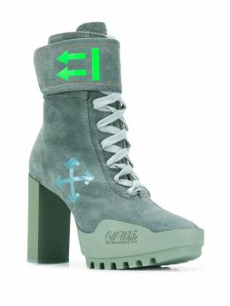 Off-White - lace-up ankle boots A933E99F566335966953