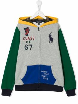Ralph Lauren Kids - TEEN 'class of 67' print jacket 99966995365865000000