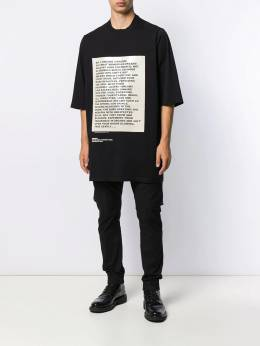 Rick Owens DRKSHDW - Deeper THan a Mother's Tears oversized T-shirt 9F6035RNEP5955063990