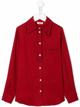 Nº21 Kids - pointed collar shirt 55ZN66906N5669539305