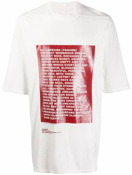 Rick Owens DRKSHDW - Deeper THan a Mother's Tears oversized T-shirt 9F6035RNEP5955063900