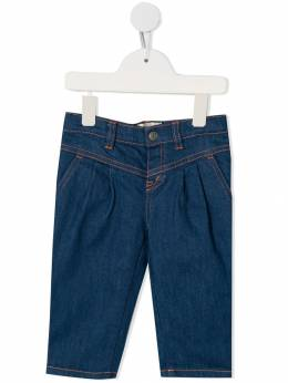 Gucci Kids - rose embroidery jeans 969XDARR953935530000