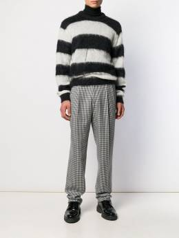 Alexander McQueen - straight check trousers 563QNU39955055560000