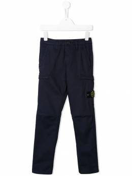 Stone Island Junior - compass badge trousers 99636999955965930000